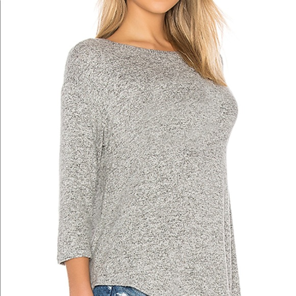 d216a63b1eb Soft Joie Tammy Top in Heather Grey.
